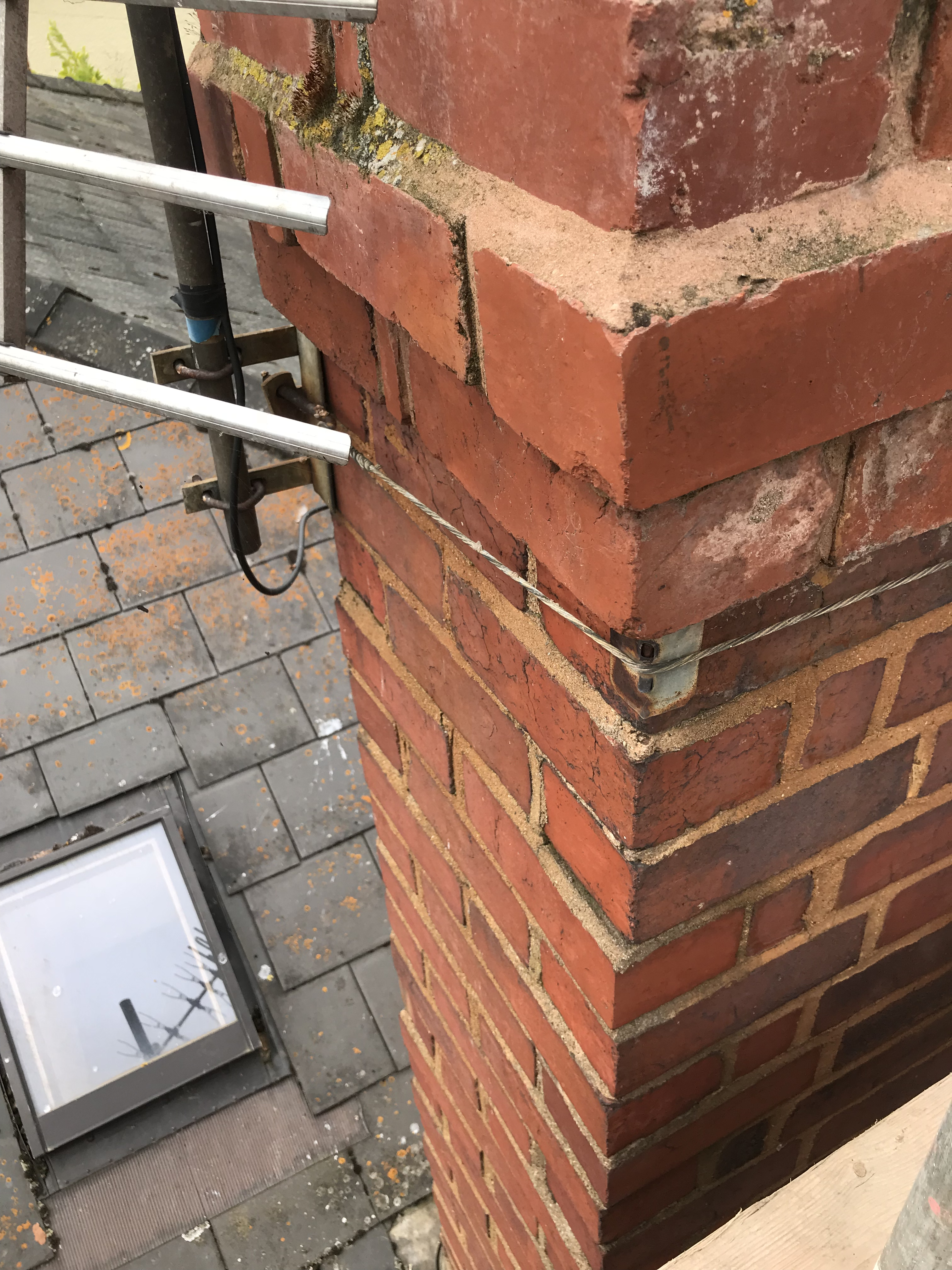 chimney-repointed