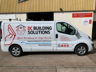 DC Building Solutions undertake a range of Building and Maintenance works and also have a separate cleaning division